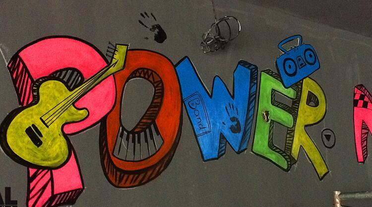 艺术涂鸦墙绘