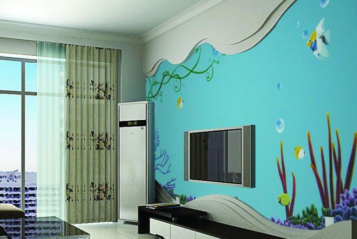 使用丙烯颜料绘制墙绘的8大优点
