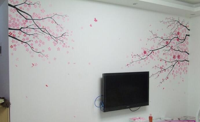 手绘墙调色盒