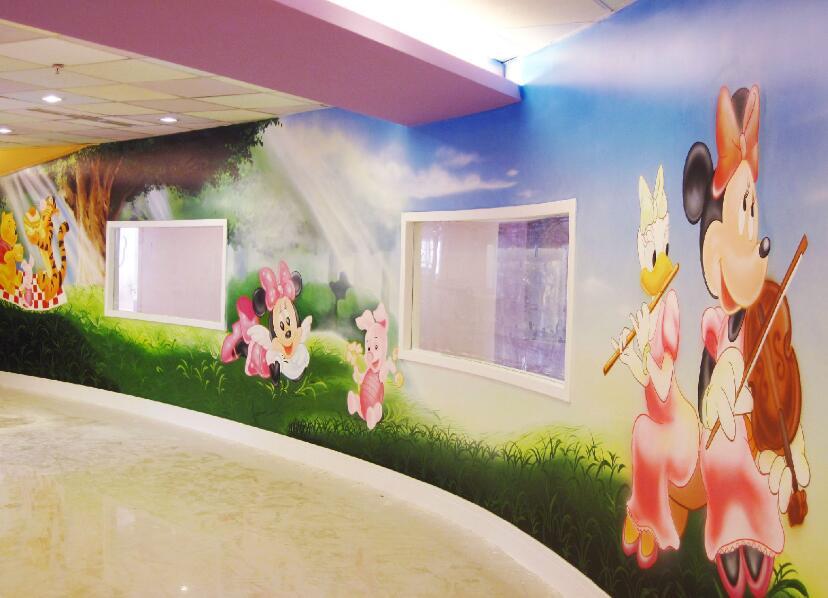 幼儿园宿舍走廊墙绘