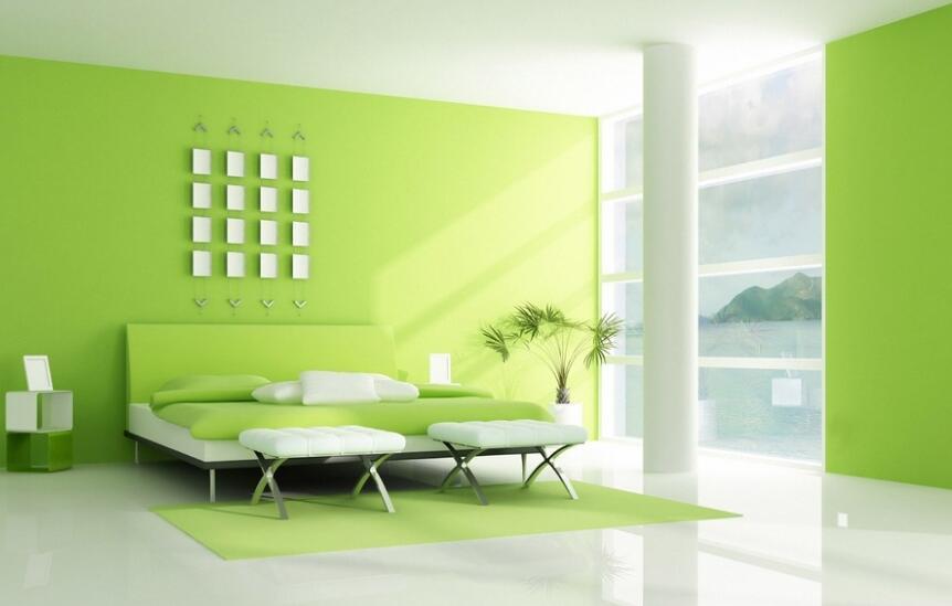 墙绘施工中,色彩应该怎样选择?浅谈各种色彩