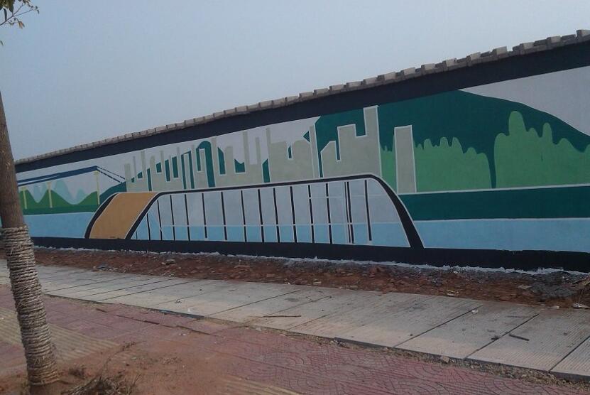 赣州城市文化墙