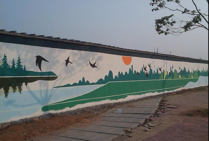 墙绘和城市经济
