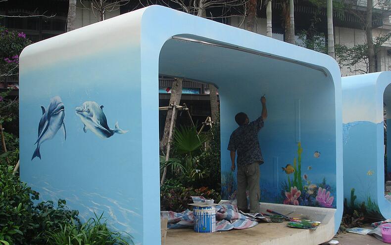 什么是墙面彩绘?墙面彩绘多少钱?