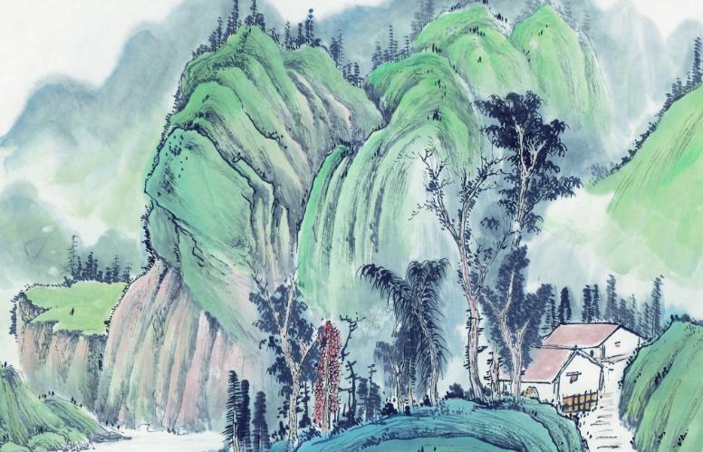 山水画写生技法