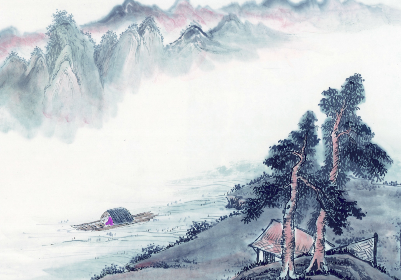 山水画写生的方法和态度