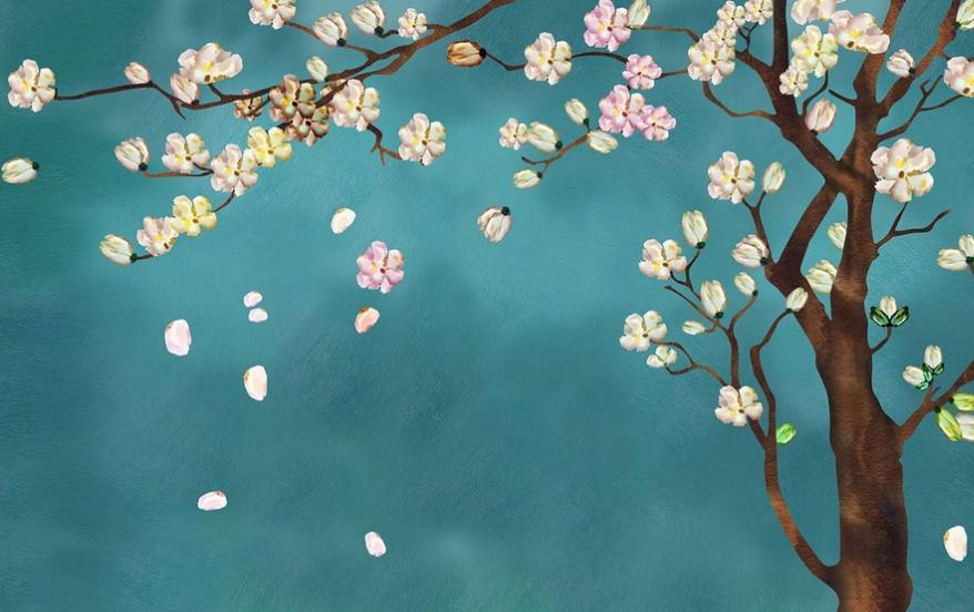 墙绘装饰手法