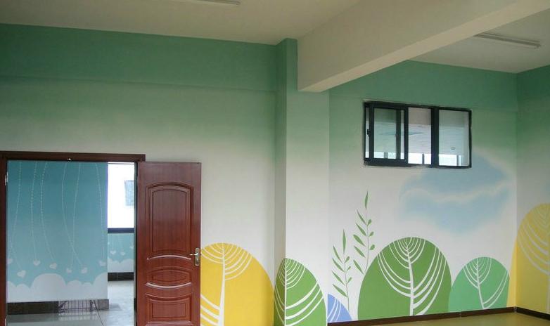 DIY手绘墙画