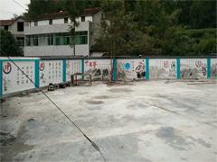 墙体彩绘:赣州文化墙—中国梦