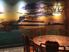 主题火锅店壁画墙体彩绘