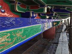 古建筑墙体壁画手工彩绘