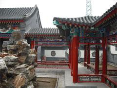 赣州古建筑墙体彩绘壁画