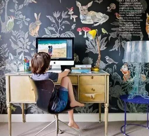 植物类墙绘