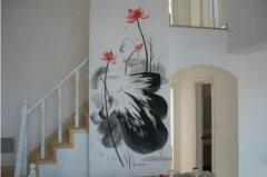 看完这个你就知道为什么丙烯墙绘颜料不一样
