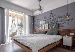 这样的墙体彩绘可以让你居家装修美出新花样