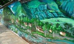 那些让你忍不住伸手去触碰的乡村墙绘