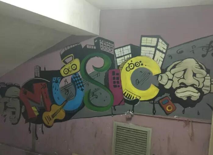 墙绘材料施工比例