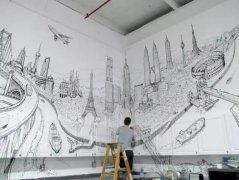 现代墙绘的发展和分类