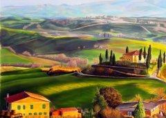 用诗作的墙绘:《清平乐·村居》