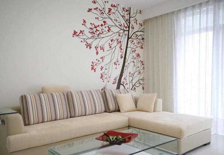 简单的居家墙绘