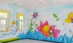 瞬间让你的家居空间美翻的创意手绘墙