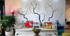 绘制客厅手绘墙的要点
