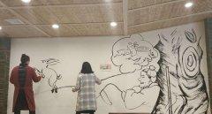 墙绘女孩儿的漫画梦