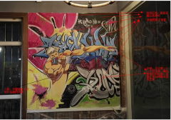 简单易学的居家手绘墙DIY教程