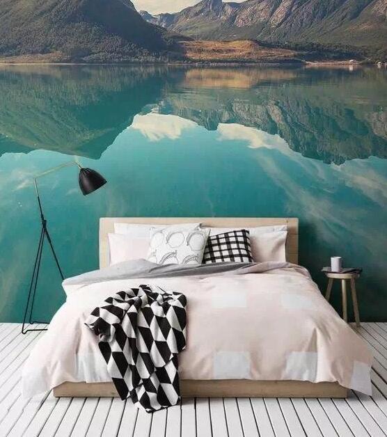 3D山水风景居家墙绘