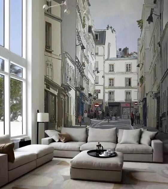 复古隐形3D居家墙绘