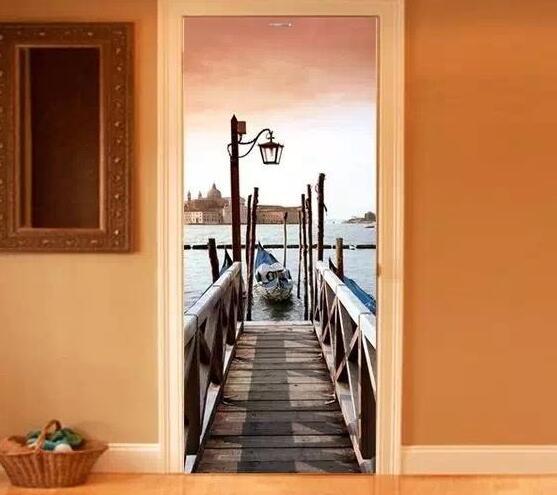 镜中的世界3D居家墙绘