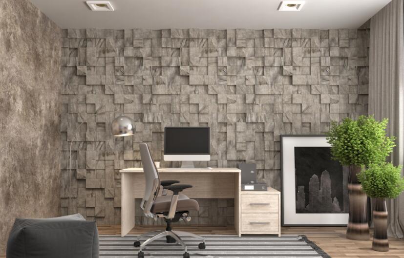 办公室墙画