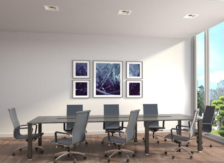 欧式办公系列墙绘