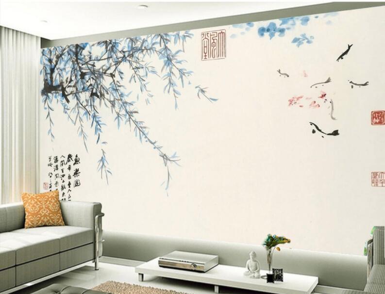 家装墙绘施工流程第一步