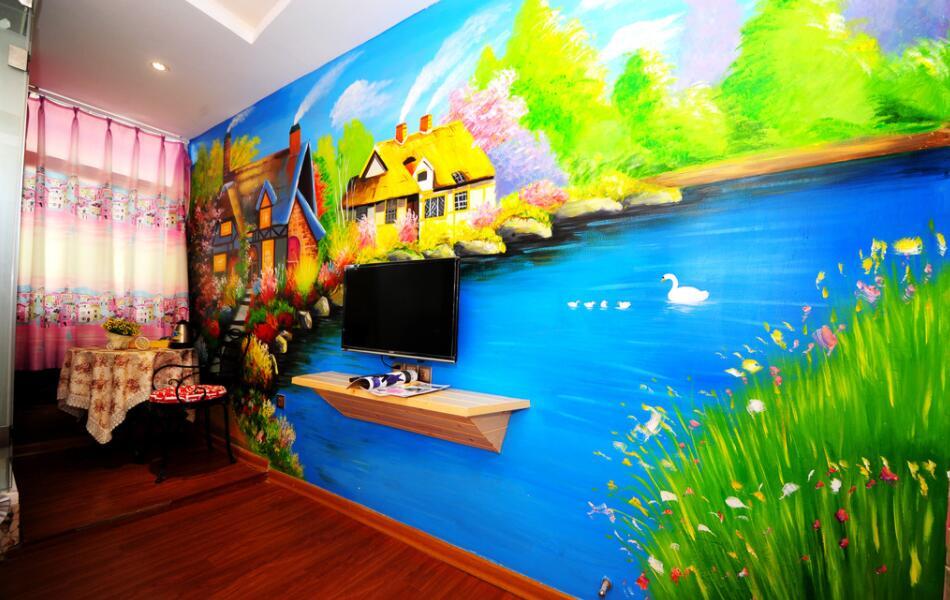 家装创意电视背景墙