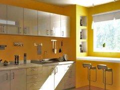 如何正确的协调墙绘和橱柜的颜色