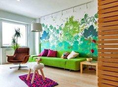 创造性的墙绘思想和现代墙绘技巧