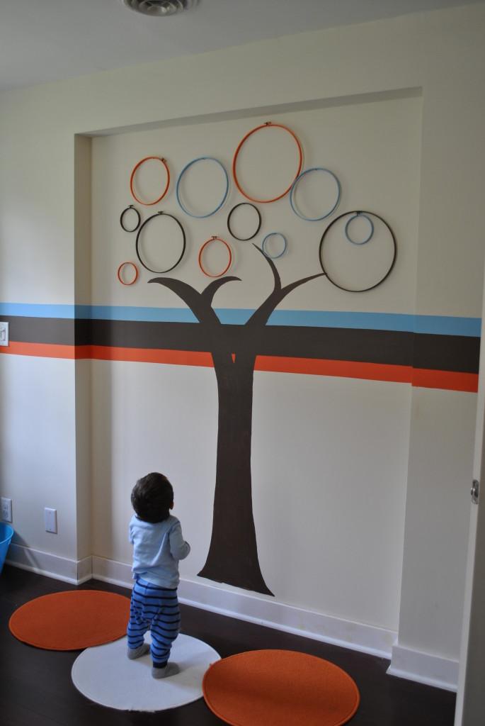 手工DIY创意墙绘