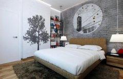 这些冷色调墙绘可以让你每天都是好心情