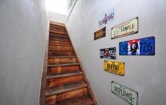 室内墙绘装饰—墙绘楼梯设计