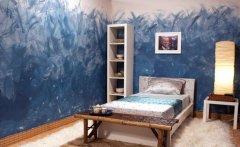 绝佳的现代卧室墙绘设计方案