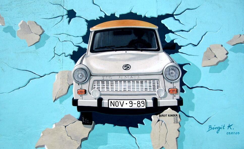 3D汽车墙绘素材
