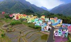 赣州彩虹童话村,用壁画墙绘绘出不一样的旅游