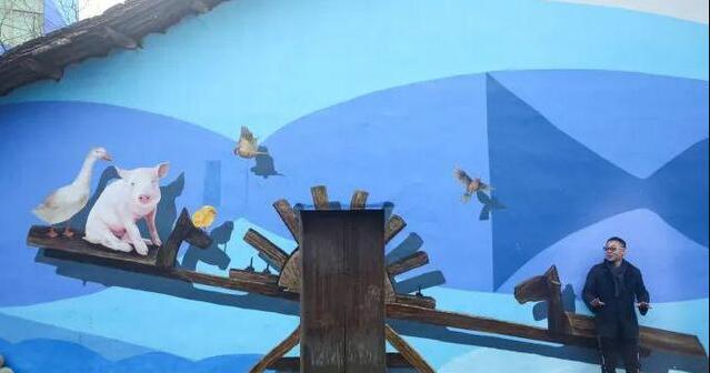 乡村童话主题墙绘