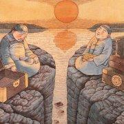 中国仿古墙绘欣赏