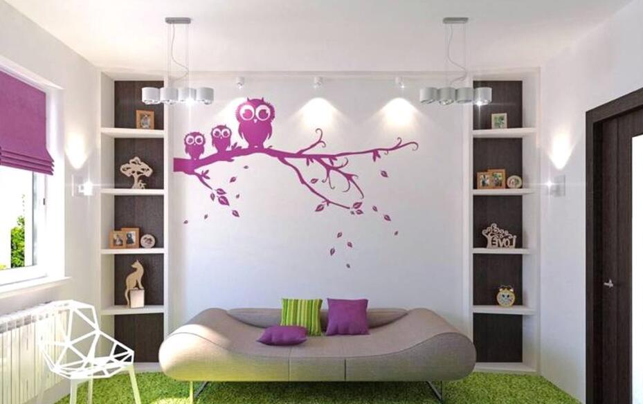 卧室墙绘设计