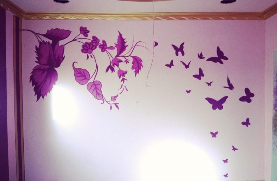 客厅墙绘设计