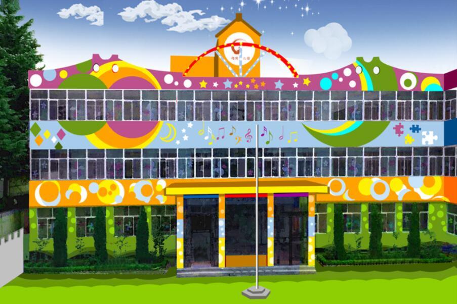 幼儿园墙绘设计效果图