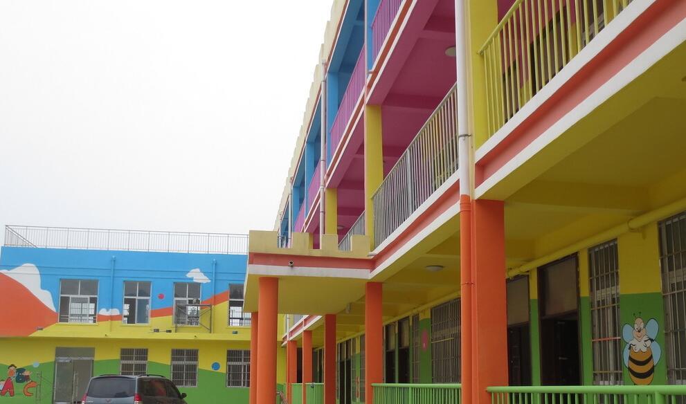 赣州幼儿园墙绘