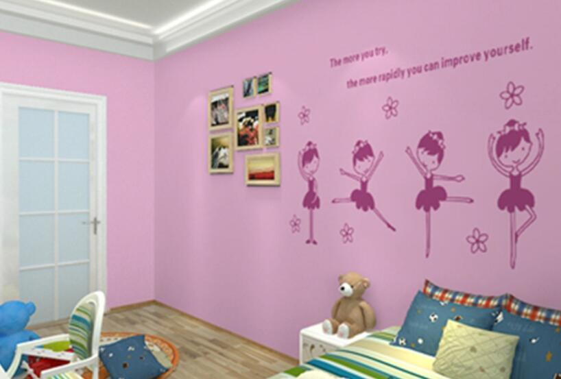 儿童房舞蹈手绘